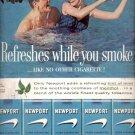 1960 Newport Cigarettes  ad (#5456)