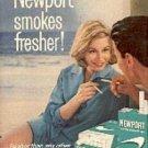 1964  Newport    Cigarette  ad ( # 2061)