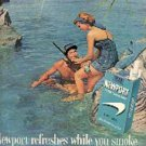1962 Newport    Cigarettes ad ( # 1453)