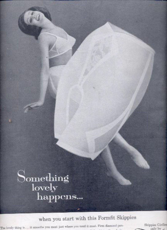1963    Formfit Skippies Girdles  ad (#5540)