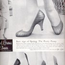 1957 Red Cross Shoes ad (# 4949)
