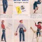 1955  Blue Bell Wrangler Jeans ad (# 3121)