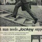 1961 Jockey Briefs ad (#1238)