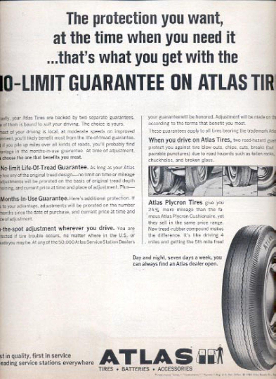 1964    Atlas Tires   ad (# 4856)