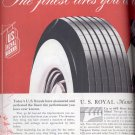 1948  U. S. Royals by U. S. Rubber ad (#1608)