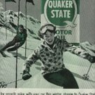 1959 Quaker State Motor Oil    ad ( # 745)