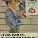 1966  Phillips 66  ad ( # 489)
