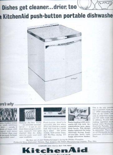 1963 KitchenAid Dishwashers    ad (# 5338)