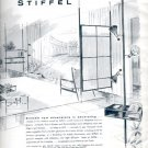 1957  The Stiffel Company  - Lampole, port-a-screen, and room-divider ad (# 4829)