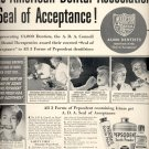Jan. 15, 1940  Pepsodent Tooth Powder, Tooth Paste, Liquid dentifrice ad (# 420)