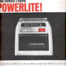 1964 Schick Cordless Shaver with powerlite   ad (#5440)