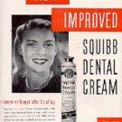 1948 Squibb Dental Cream ad (# 2931)