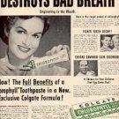 1952 Colgate Toothpaste ad (# 2466)