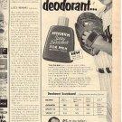 1952 Mennen Spray Deodorant for men ad (#2012)