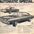 November 5, 1971  Dodge Dart ad ( # 3186)