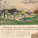 1947 Maxwell House Coffee ad (#2153)