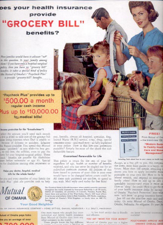 1963    Mutual of Omaha Insurance Company  ad (#5538)