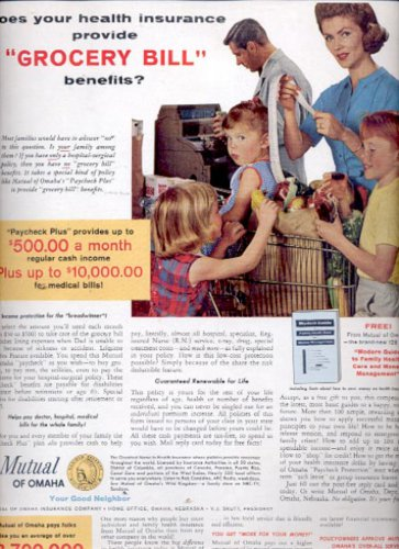 1963    Mutual of Omaha Insurance Company  ad (#5538)