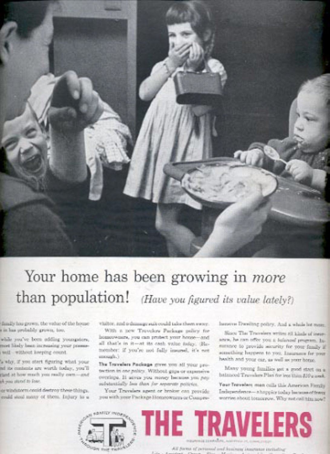 1957  The Travelers Insurance Companies   ad (# 4975)
