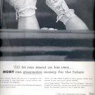 1959   Mutual of New York Insurance Company ad (# 4388)