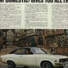 1970 Buick Opel 1900 ad ( # 928)