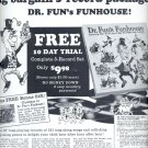 Nov. 19, 1966      Dr. Fun's Funhouse      ad  (#1313)