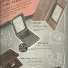 June 1947 Rumpp the sterling of leatherware    ad  (# 5909)