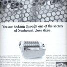 Nov. 19, 1966    Sunbeam Shavemaster Shaver   ad  (#1227)