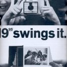 Nov. 5, 1966  - The Swinger Polaroid land Camera      ad  (#2832)