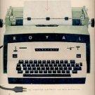1960  Royal Electric Typewriter    ad (#5834)