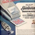 Sept. 1, 1947        Sunbeam Shavemaster     ad  (#6438)