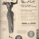 November 24, 1947      Crown Zippers      ad  (#6458)