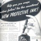 Sept. 21, 1942    Parker Quink     ad  (#3582)