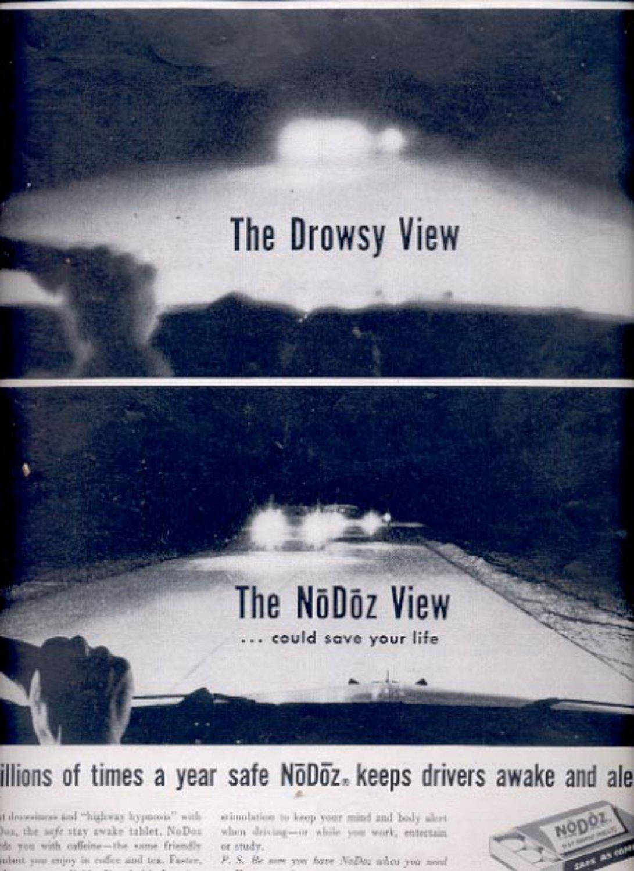 1959 No Doz stay awake tablets  ad (#5557)