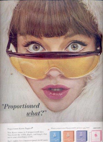 1963    Kotex Napkins  ad (#5536)