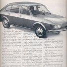 1972 Volkswagen  ad ( # 1548)