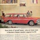 1963 Rambler    6 or V-8 ad (#  2489)