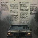 1981  Cadillac ad (# 1257)