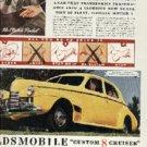 1939 ad of 1940 Oldsmobile Custom 8 Cruiser (  # 256)