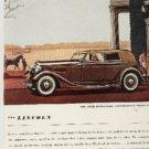 1934  Lincoln ad (  # 263)