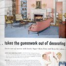1957      Sherwin- Williams Co.- Super Kem-Tone  ad (# 4805)