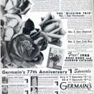 1948   Germain's Seed Growers and Horticulturists ad (#4224)