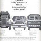 1961  Allison Automatic truck transmission  ad (#4295)