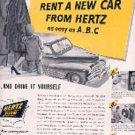 1948 Hertz ad (# 3163)