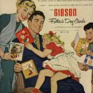 1952  Gibson Father's Day Cards ad (#1111)