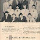 1958  Civic Reading Club ad (# 2823)
