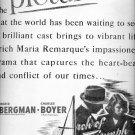 Sept. 15, 1947   Arch of Triumph movie     ad  (#6308)