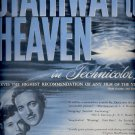 April 7, 1947   Stairway to Heaven movie      ad  (#6402)