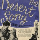 "1943 ""The Desert Song""  movie  ad (#1080)"