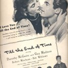 July 22, 1946   Till the End of Time movie  ad  (#3634)
